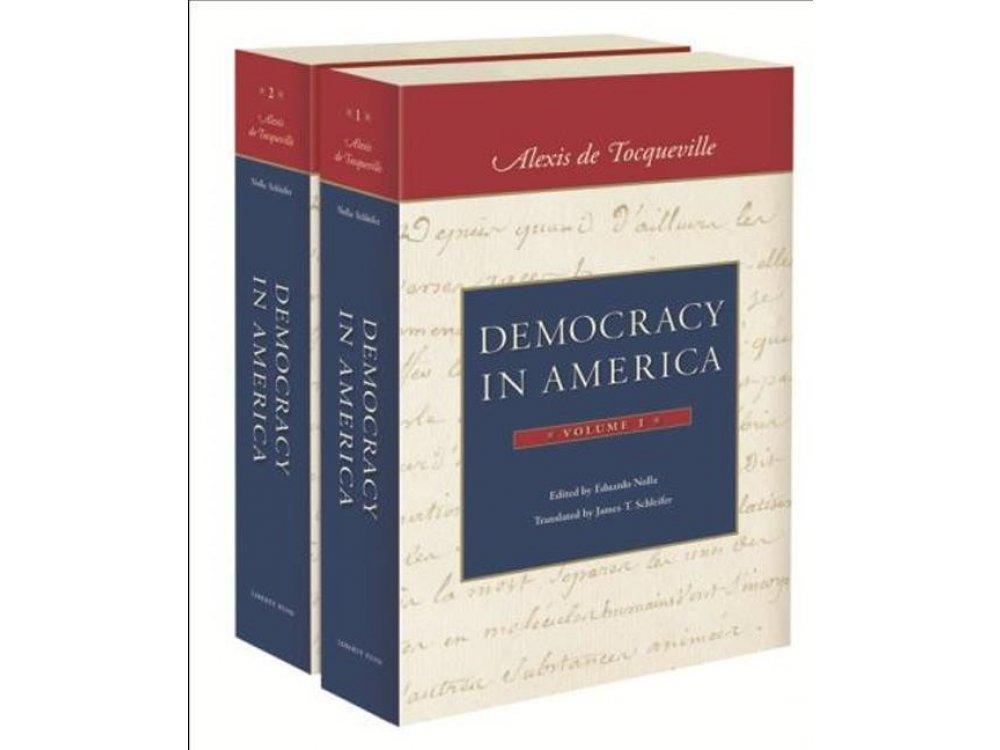 Democracy In America- 2 Volumes Set