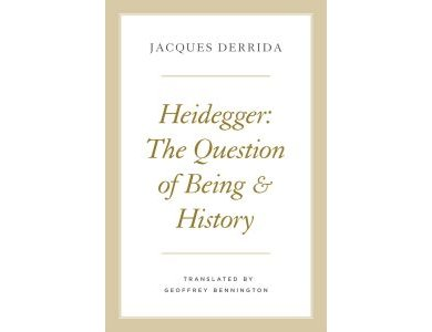 Heidegger: The Question of Being and History [CLONE]