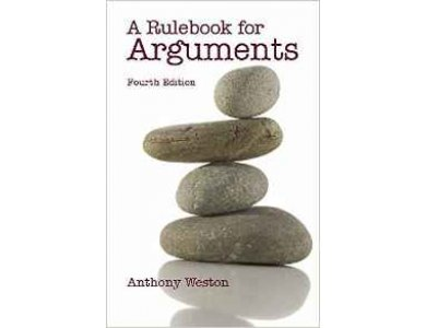 A Rulebook for Arguments