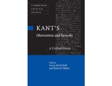 Kant's Observations and Remarks