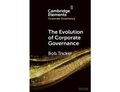 The Evolution of Corporate Governance