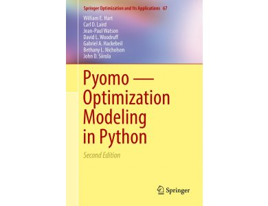 Pyomo-Optimization Modeling in Python